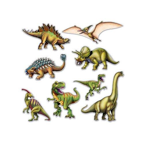 Beistle Dinosaur Cutouts ()