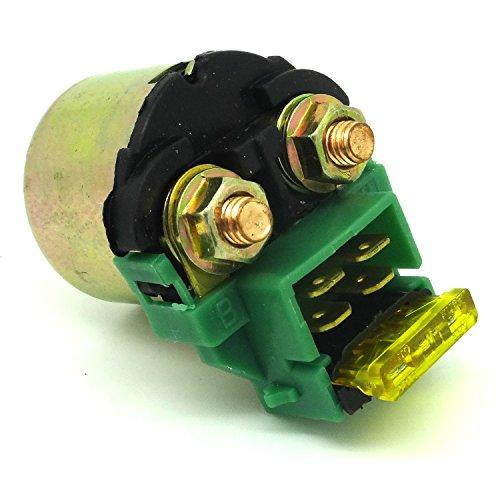 Starter Relay Connector - Starter Solenoid Relay Fits Honda VT600 SHADOW 1988-2007 CRF150 GL1100 GL1200 GL1500 GL500 VF1000 VF1100 VF500 VF750 VT 500 VT600 VT700 KAWASAKI EL250 EN500 EX 250 ZX1000 ZX 1100 SUZUKI GS500 GSXR1100