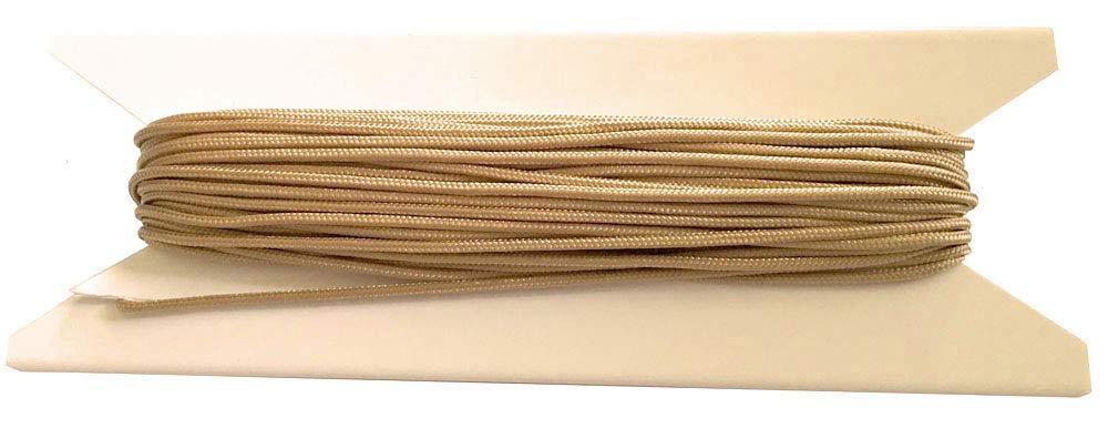 100 feet 1.8mm Tan Window Blind Cord, String - Horizontal Blinds & Roman Shades