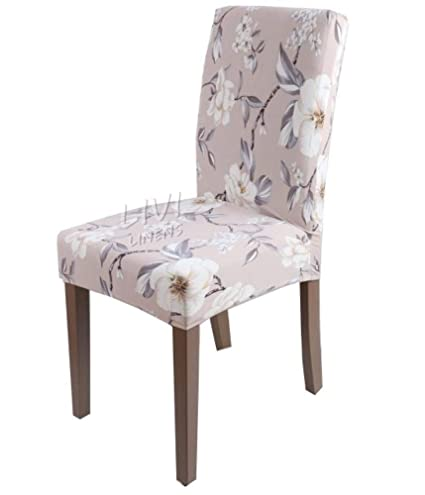 Hakazhi Inc Printing Zebra Stretch Chair Cover Big Elastic Seat Chair Covers Painting Slipcovers Restaurant Banquet Hotel Home Decoration (White ...