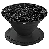 Vintage Solar System Sky Stars Planets Universe Astronomy - PopSockets Grip and Stand for Phones and Tablets
