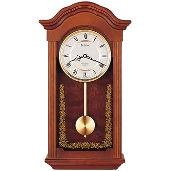 Amazon Com Bulova C4443 Baronet Chiming Clock Mahogany