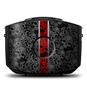 Nunzio Design Protective Decal Skin Sticker (High Gloss Coating) for Decorating Gaems Sentry Personal Gaming Carry Case (Console and Case NOT included)