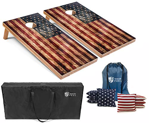 American Flag Cornhole Boards w/Bean Bags