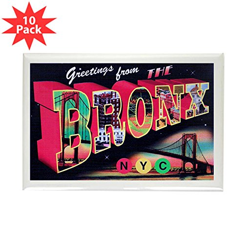 CafePress - Bronx New York City - Rectangle Magnet, 2