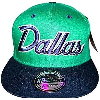 09b2ff3ca KB Ethos Dallas Snapback Caps, Urban Flat Peak Fitted Baseball Bling ...