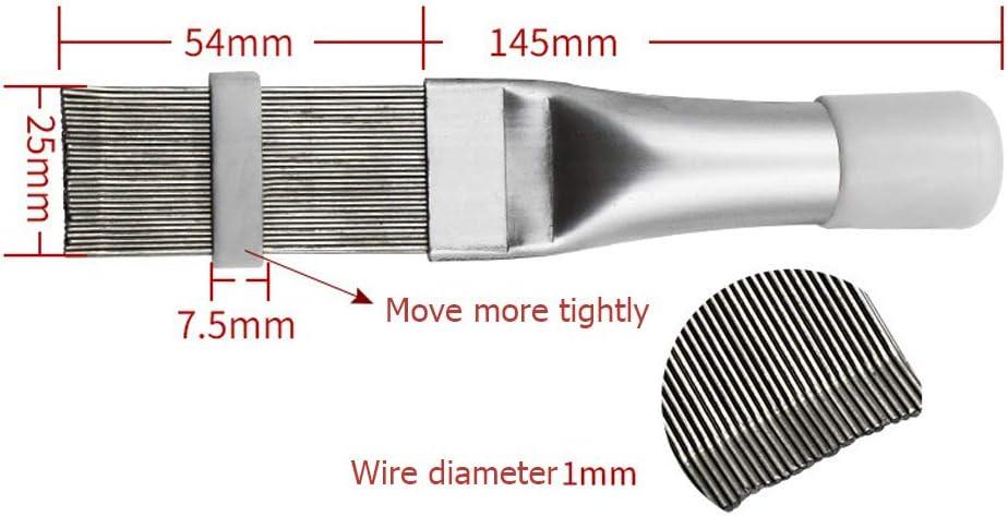 Macabolo Brosse /à peigne en acier inoxydable pour climatisation