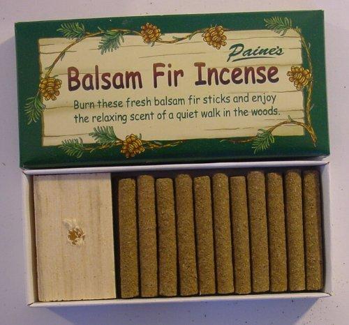 24 Fir Balsam Sticks and Holder - Paine's Fir Balsam Incense