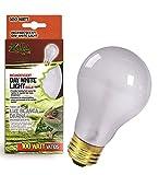 heat lamp for frogs - Zilla Reptile Terrarium Heat Lamps Incandescent Bulb, Day White, 100W