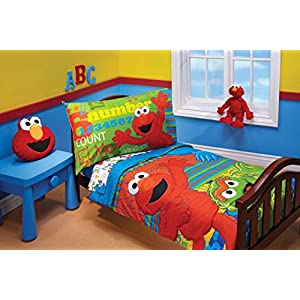 Sesame Street ABC 123 4 Piece Toddler Set 5