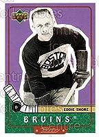 (CI) Eddie Shore Hockey Card 1999-00 Upper Deck Retro (base) 88 Eddie Shore
