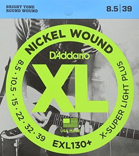 D'Addario EXL130+ Nickel Wound Electric Guitar Strings, Extr