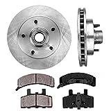 FRONT 294.89 mm Premium OE 5 Lug [2] Brake Disc Rotors + [4] Ceramic Brake Pads