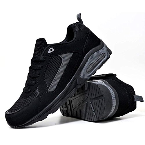 Jogging Fitness Gym Shoes Absorbants Charcoal Black Course De Pour New Entraneurs Trainer Chaussures Hommes UqTCY