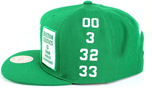 Boston Celtics Mitchell & Ness The 80's NBA Champions Snapback Cap – Green