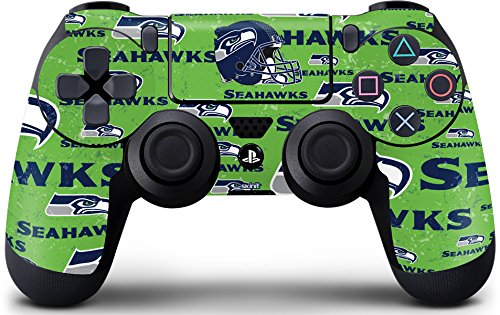NFL Seattle Seahawks PS4 DualShock4 Controller Skin - Seattle Seahawks - Blast Green Vinyl Decal Skin For Your PS4 DualShock4 (Seahawks Controller)
