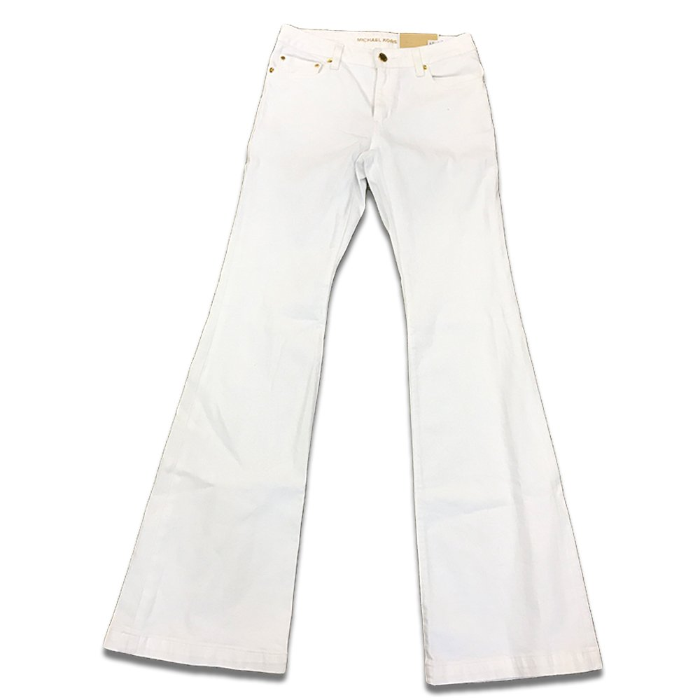 Michael Kors Women s Selma Flare White Jeans at Amazon Women s Jeans store e5d27e9af