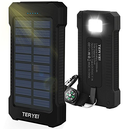 Solar Panel Usb Battery Charger - 2