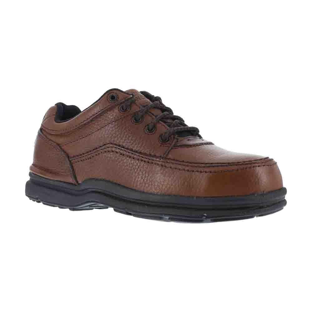 Rockport Shoes: Men's Steel Toe ESD Work Shoes RK6762-10.5EW