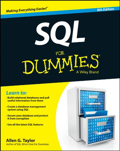 SQL For Dummies cover