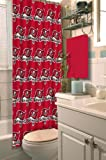 "NFL Tampa Bay Buccaneers Shower Curtain, 72"" x 72"""