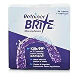 Retainer Brite Cleaning Tablets (36 Tablets)