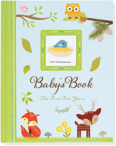 Baby's Book: The First Five Years (Woodland Friends) (Baby Pretty Album)