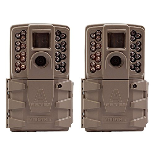 Moultrie 2017 A 30 Game Camera | All Purpose Series | 0.7s Trigger Speed Mobile Compatible A-30 (2017) Game Camera (2 Pack)