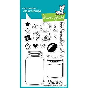 Lawn Fawn Clear Stamps-Summertime Charm
