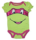 girl toddler ninja turtle shirt - Teenage Mutant Ninja Turtle Baby Boys & Girls Bodysuit Dress Up Outfit (12 Months, Pink)