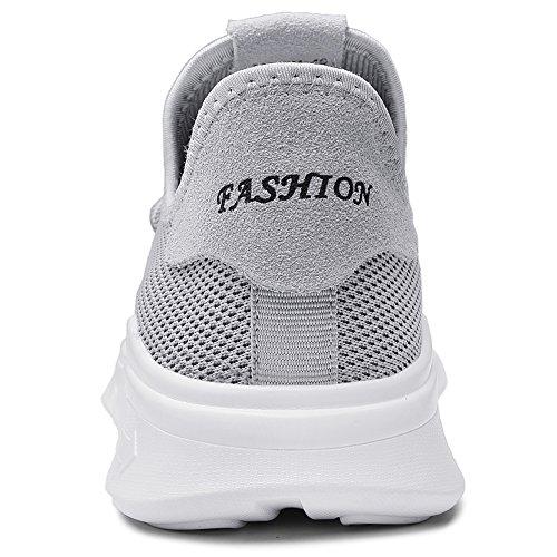Lgres ups Gris Dentelle En Hommes 8626 Respirante De Baskets Chaussures Course Pour Tiosebon RHBvg6qx