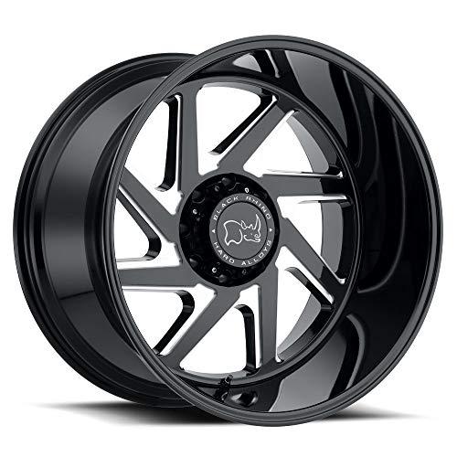 BLACK RHINO Rim Swerve 24X14 6x135 Offset -76 Gloss Black