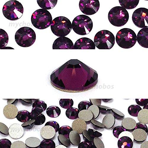 Amethyst 144 Pcs Swarovski Crystal - 2
