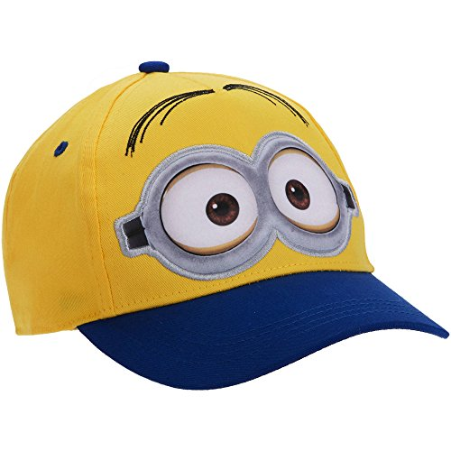Despicable Me Minions Baseball Cap Hat Little Boys One Size Fits Most Yellow
