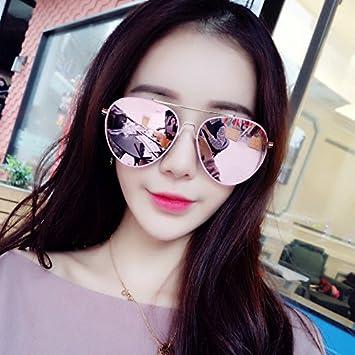 El nuevo Sunyan coreano gafas de sol rosado niñas cara ...