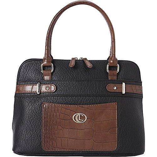 aurielle-carryland-croco-belting-satchel-black-brown