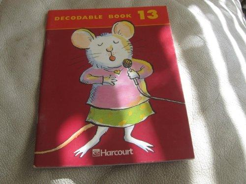 (Harcourt School Publishers Trophies: Decodable Book Bk13 Gr2)