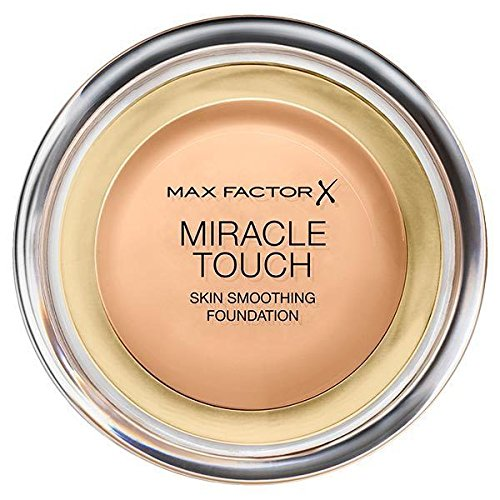 Max Factor Miracle Touch Liquid Illusion Foundation - Golden 75 11.5g by Max Factor (Max Factor Miracle Touch 75)