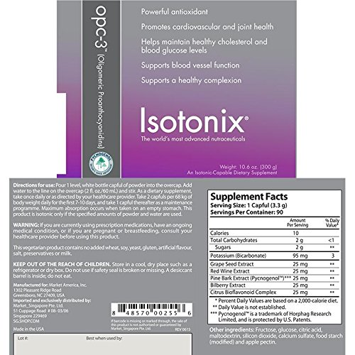 Isotonix OPC-3 Pycnogenol 90 serving 3 month
