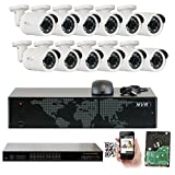 GW Security 1920P NVR HD Megapixel 1920P Network PoE Security IP Camera System