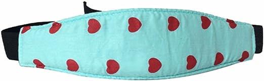 Versi/ón mejorada Varios Colores Uraqt Beb/és Soporte de la Cabeza para Cintur/ón de Seguridad de Coche