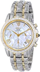 Seiko Women's SSC892 Diamond-Accented Two-Tone Stainless Steel Watch