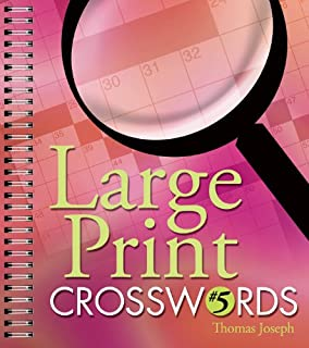 photo about Thomas Joseph Printable Crosswords referred to as Heavy Print Crosswords #1: Thomas Joseph: 9781402707667