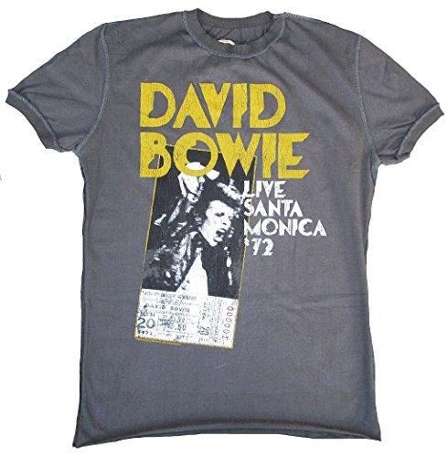 Men's Bowie Live Santa Monica 1972 T-shirt, S to XXL