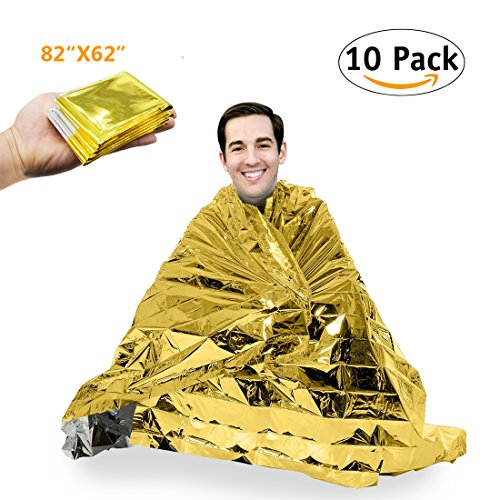 Two Sided Mylar Foil (Emergency Blanket Mylar Survival Blanket 82