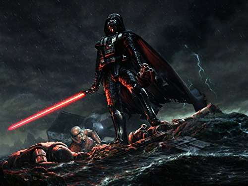 Darth Vader Stormtroopers Star Wars Movie Awesome Art 24x18 Print Poster