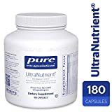 Pure Encapsulations – UltraNutrient – Hypoallergenic Multivitamin/Mineral Complex with Advanced Antioxidants – 180 Capsules For Sale