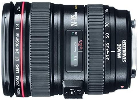Canon EF 24-105mm f/4 L IS USM Lens for Canon EOS SLR Cameras – White Box (Bulk Packaging) 51 2BT7eVt1VL