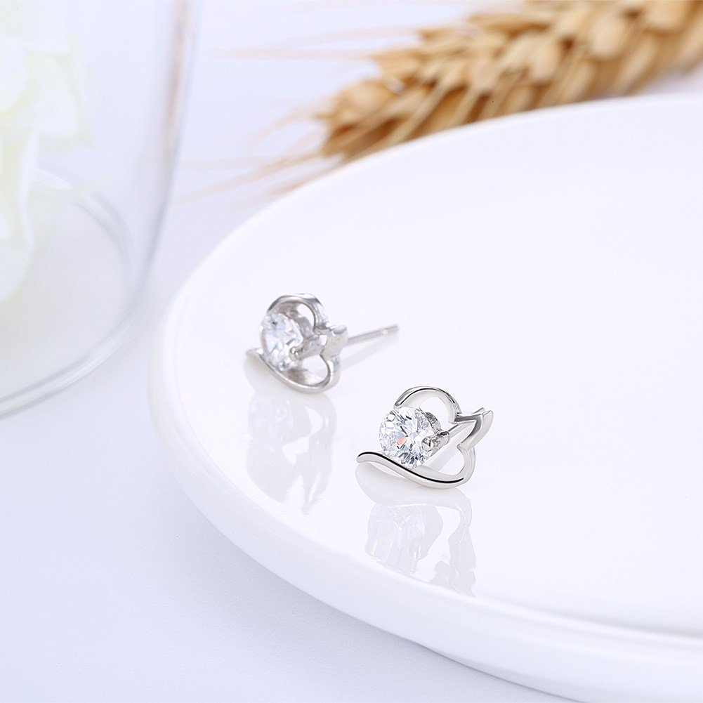 Cinlan S925 Sterling Silver Fashion Classic Stud Earrings Color 16