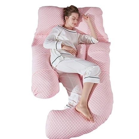 LXZ Almohada para Dormir Lateral Embarazada Almohada ...